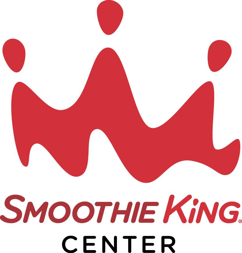 New Orleans Pelicans Logo Stadium Logo (2014/15-Pres) - Smoothie King Center logo 1 SportsLogos.Net
