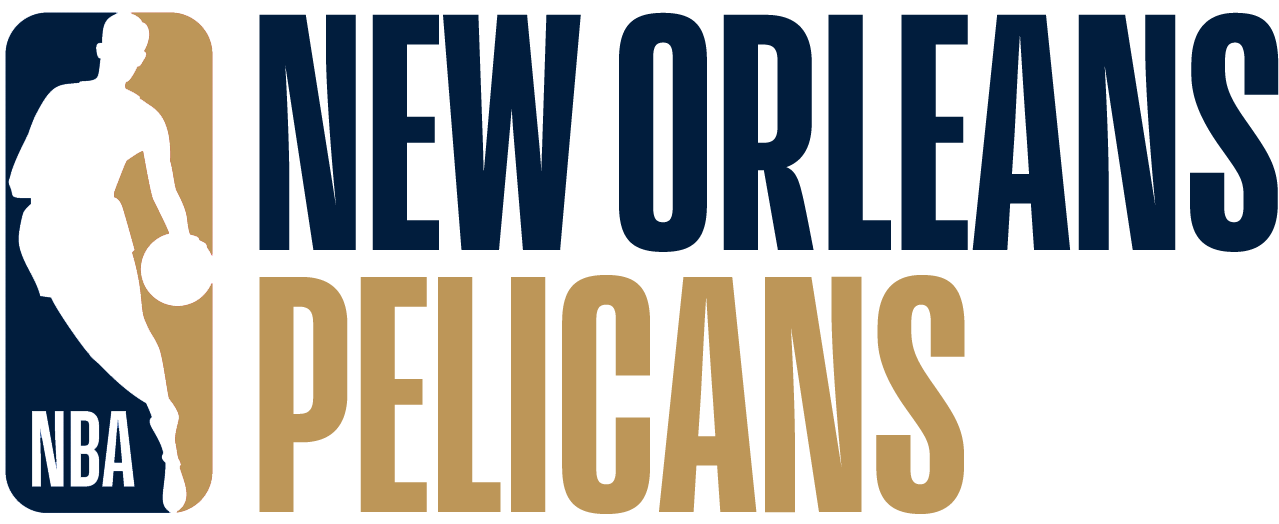 New Orleans Pelicans Logo Misc Logo (2017/18) - Note: This is not a legitimate team logo, it was originally created by this site for an April Fool's Day joke using the NBA's standardized logo system in 2018 SportsLogos.Net