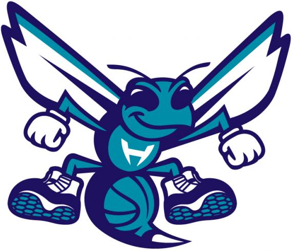 Charlotte Hornets Mascot Logo National Basketball Association Nba