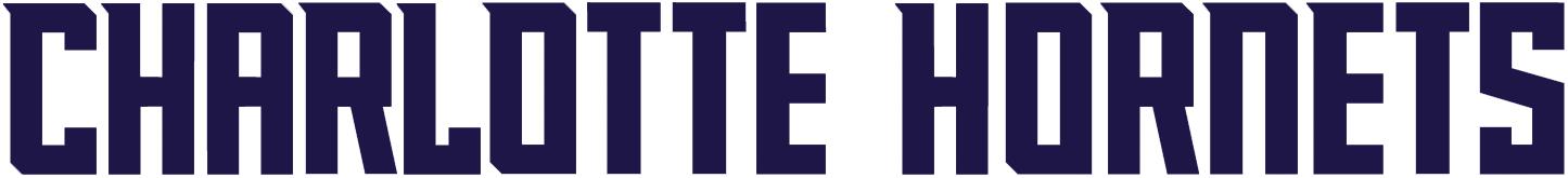 Charlotte Hornets Logo Wordmark Logo (2014/15-Pres) -  SportsLogos.Net