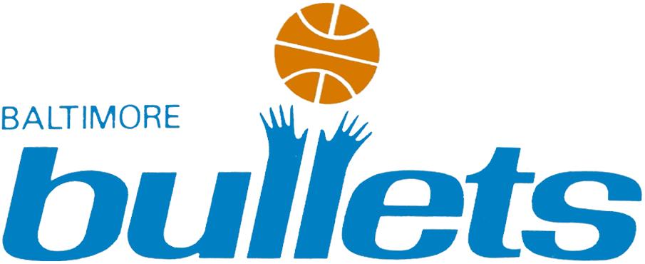Baltimore Bullets Logo Primary Logo (1972/73) -  SportsLogos.Net
