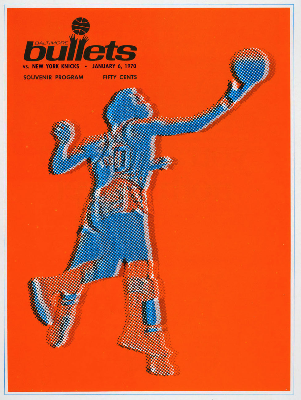 Baltimore Bullets Program Program (1969/70) - Baltimore Bullets Program SportsLogos.Net