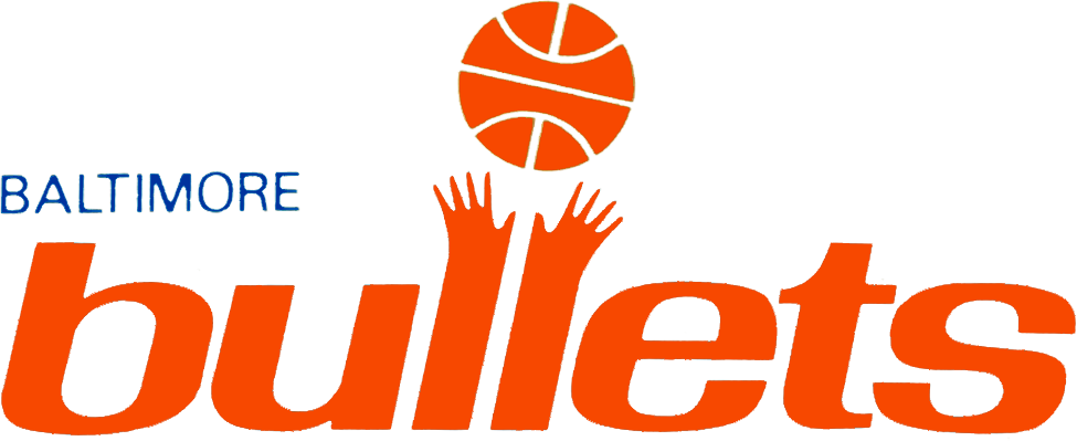 Baltimore Bullets Logo Primary Logo (1968/69) -  SportsLogos.Net