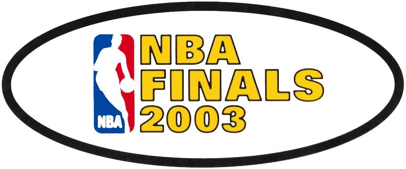 NBA Finals Logo Primary Logo (2002/03) - 2003 NBA Finals Logo SportsLogos.Net