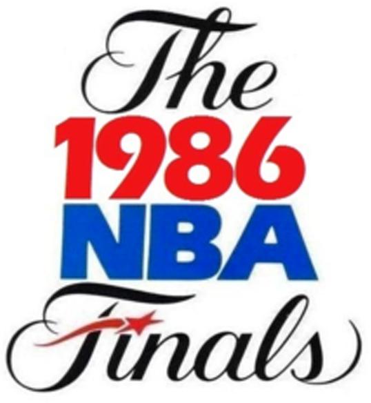 NBA Finals Logo Primary Logo (1985/86) - 1986 NBA Finals Logo SportsLogos.Net
