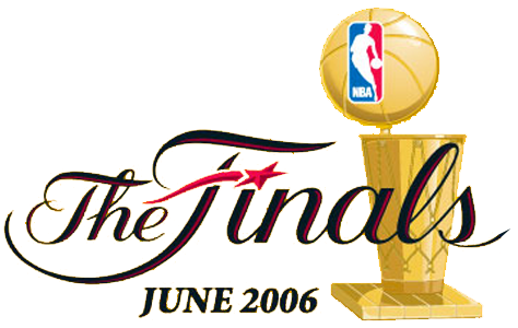 NBA Finals Logo Primary Logo (2005/06) - 2006 NBA Finals Logo - Dallas Mavericks vs Miami Heat SportsLogos.Net