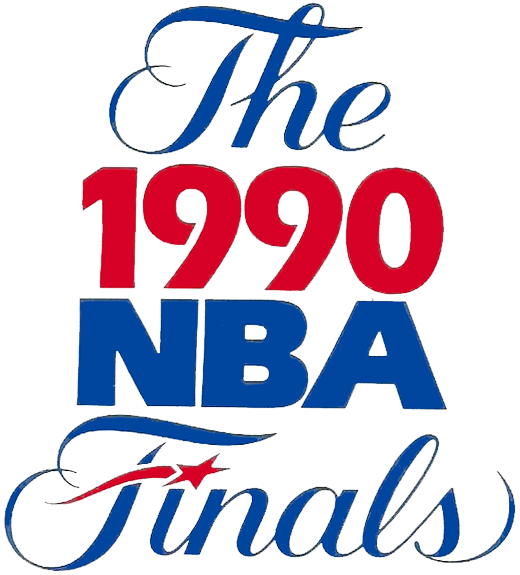 NBA Finals Logo Primary Logo (1989/90) - 1990 NBA Finals Logo SportsLogos.Net