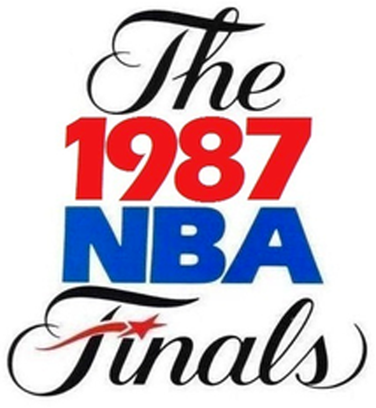 NBA Finals Logo Primary Logo (1986/87) - 1987 NBA Finals Logo SportsLogos.Net