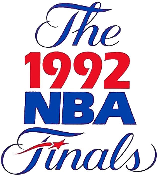 NBA Finals Logo Primary Logo (1991/92) - 1992 NBA Finals Logo SportsLogos.Net