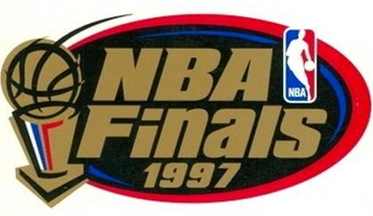NBA Finals Logo Primary Logo (1996/97) - 1997 NBA Finals logo - Chicago Bulls vs Utah Jazz SportsLogos.Net