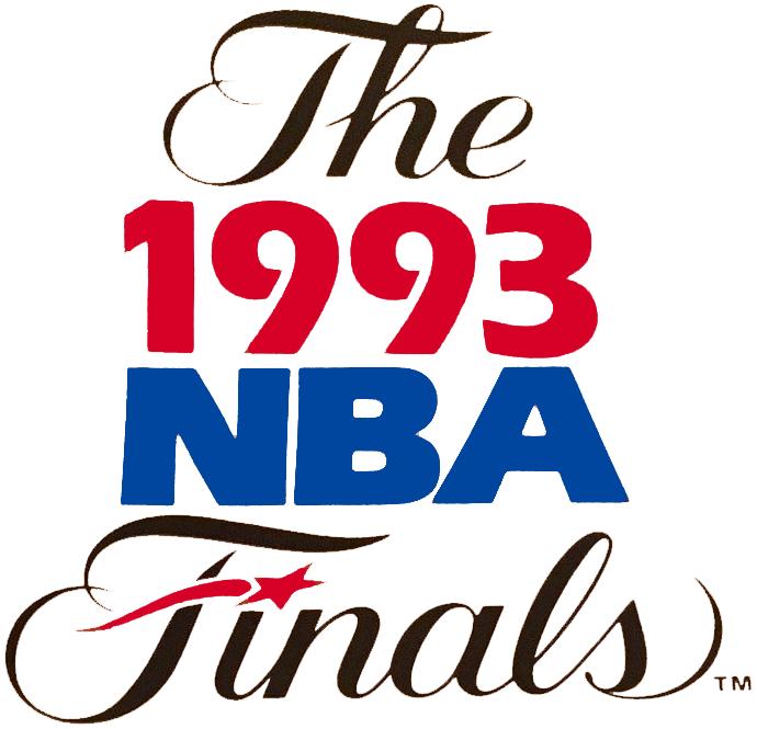 NBA Finals Logo Primary Logo (1992/93) - 1993 NBA Finals Logo SportsLogos.Net
