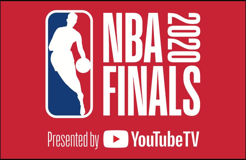 NBA Finals Logo Primary Dark Logo (2019/20) - 2020 NBA Finals logo on red SportsLogos.Net