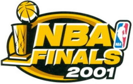 NBA Finals Logo Primary Logo (2000/01) - 2001 NBA Finals Logo SportsLogos.Net