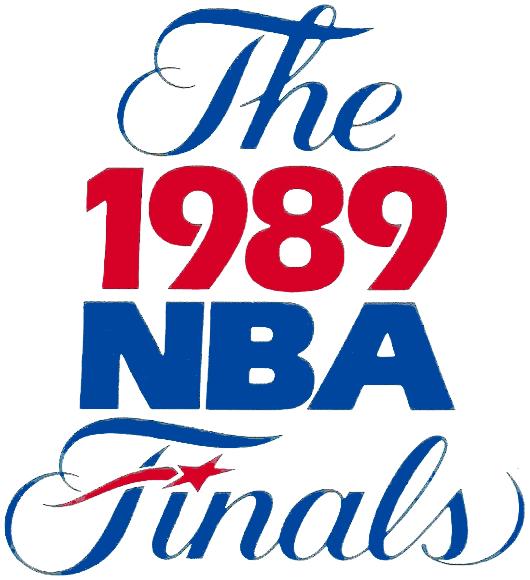 NBA Finals Logo Primary Logo (1988/89) - 1989 NBA Finals Logo SportsLogos.Net
