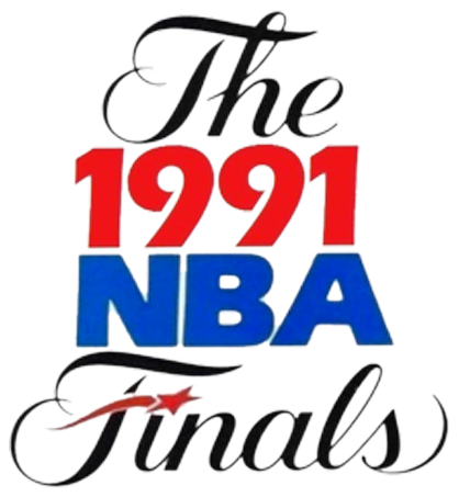 NBA Finals Logo Primary Logo (1990/91) - 1991 NBA Finals logo - Los Angeles Lakers vs Chicago Bulls SportsLogos.Net