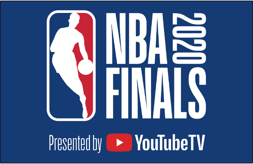 NBA Finals Logo Primary Dark Logo (2019/20) - 2020 NBA Finals logo on blue SportsLogos.Net