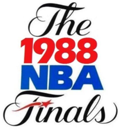 NBA Finals Logo Primary Logo (1987/88) - 1988 NBA Finals logo - Los Angeles Lakers vs Detroit Pistons SportsLogos.Net