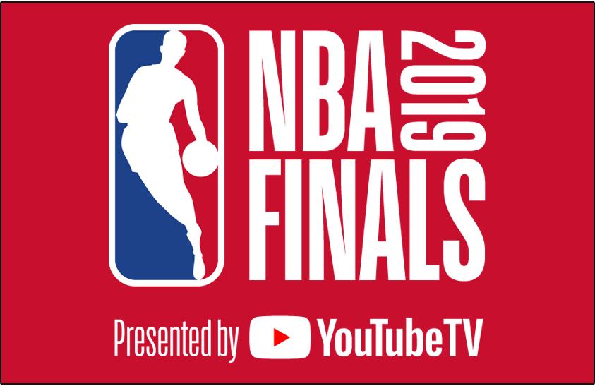 NBA Finals Logo Primary Dark Logo (2018/19) - 2019 NBA Finals Logo on red - Toronto Raptors vs Golden State Warriors SportsLogos.Net
