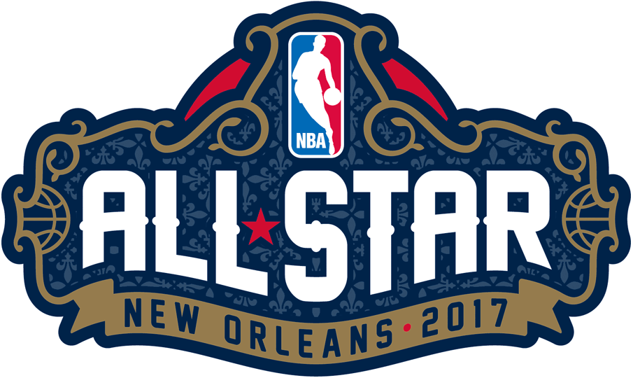 NBA All-Star Game Logo Primary Logo (2016/17) - 2017 NBA All-Star Game logo, game played in New Orleans, LA SportsLogos.Net