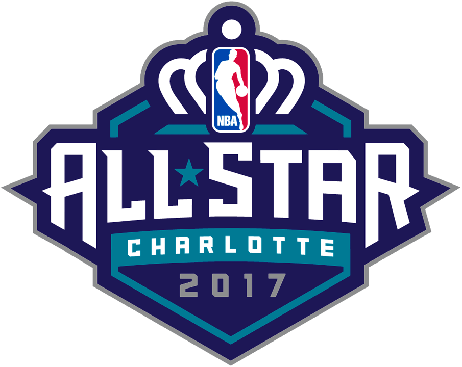 NBA All-Star Game Logo Unused Logo (2016/17) - Original logo for the 2017 NBA All-Star Game when it was being held in Charlotte, NC. Game was relocated to New Orleans. SportsLogos.Net