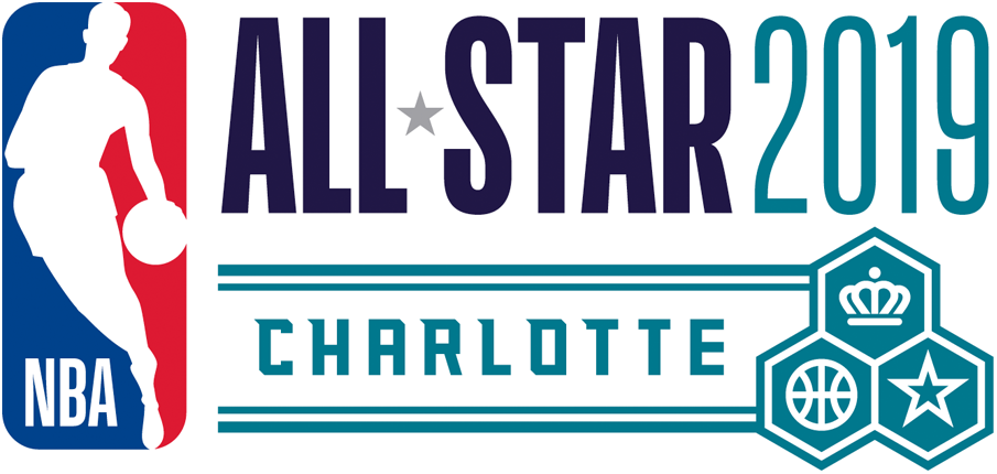 NBA All-Star Game Logo Primary Logo (2018/19) - 2019 NBA All-Star Game Logo, played in Charlotte, NC hosted by the Hornets SportsLogos.Net