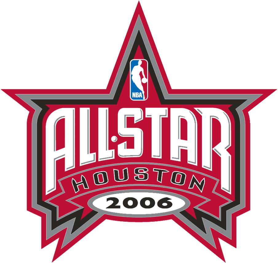 NBA All-Star Game Logo Primary Logo (2005/06) - 2006 NBA All-Star Game in Houston SportsLogos.Net