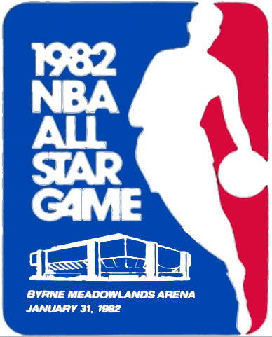 NBA All-Star Game Logo Primary Logo (1981/82) - 1982 NBA All-Star Game logo, played in East Rutherford, NJ on January 31, 1982 SportsLogos.Net