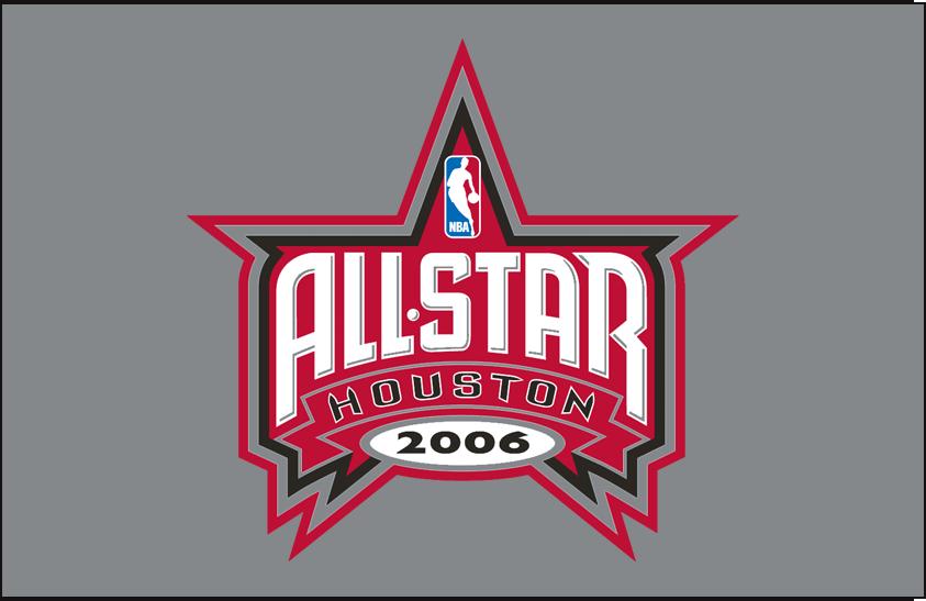NBA All-Star Game Logo Primary Dark Logo (2005/06) - 2006 NBA All-Star game logo on grey background SportsLogos.Net