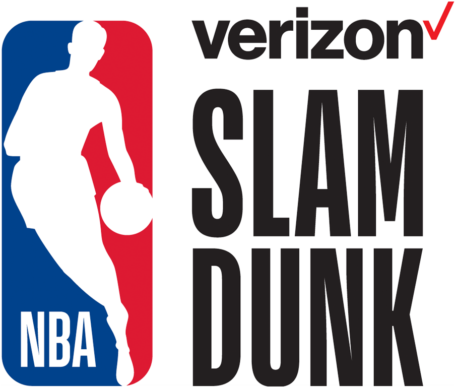 NBA All-Star Game Logo Event Logo (2017/18) - 2018 NBA Slam Dunk Contest Logo SportsLogos.Net