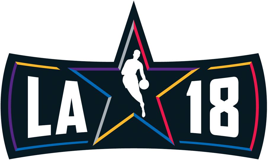 NBA All-Star Game Logo Wordmark Logo (2017/18) - 2018 NBA All-Star Game Logo - Los Angeles, CA SportsLogos.Net