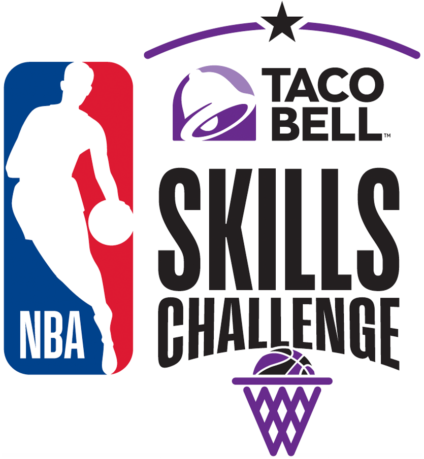 NBA All-Star Game Logo Event Logo (2017/18) - 2018 NBA All-Star Skills Challenge Logo SportsLogos.Net