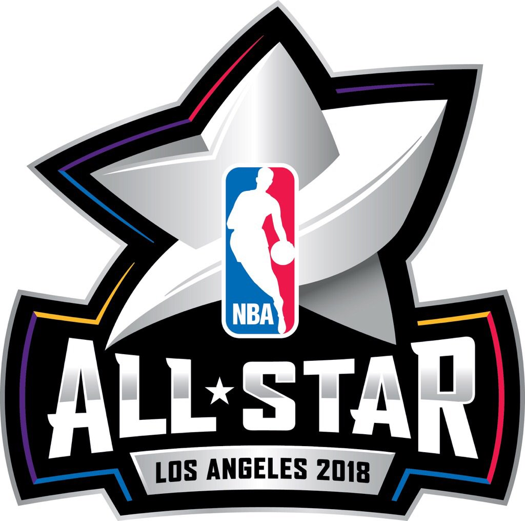 NBA All-Star Game Logo Unused Logo (2017/18) - Original primary logo introduced for 2018 NBA All-Star Game in Los Angeles, logo was replaced with no explanation provided during the Summer of 2017 SportsLogos.Net