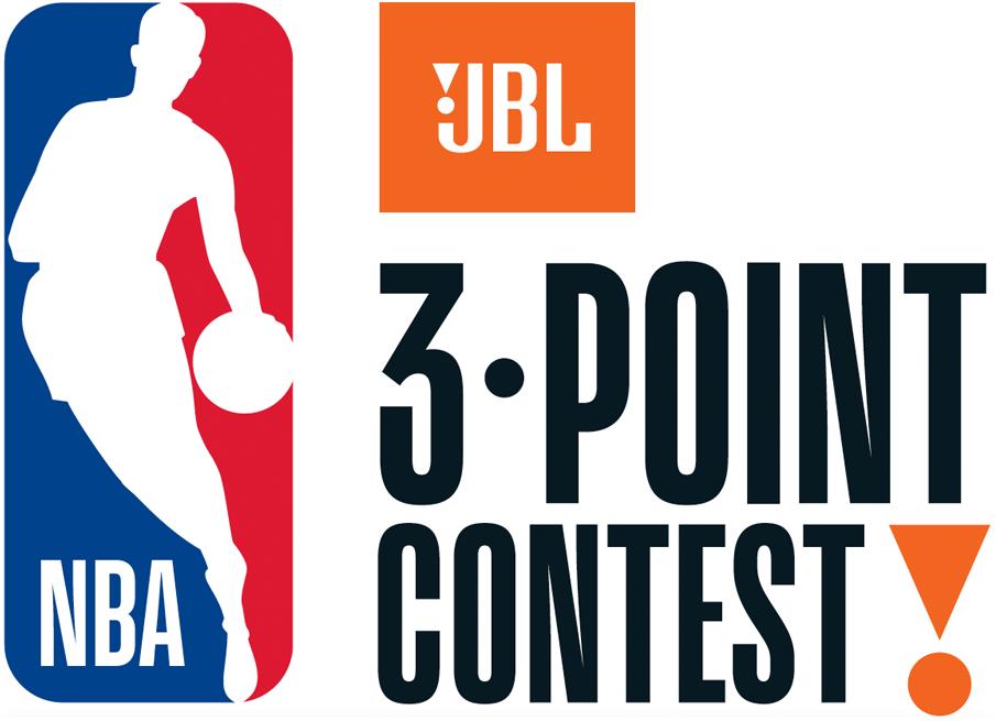 NBA All-Star Game Logo Event Logo (2017/18) - 2018 NBA Three Point Contest Logo SportsLogos.Net