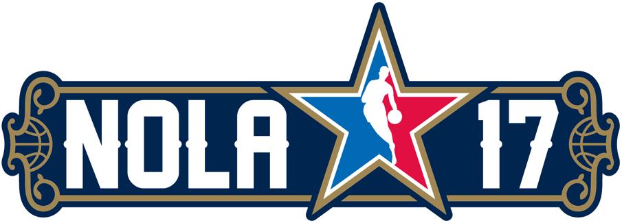 NBA All-Star Game Logo Wordmark Logo (2016/17) -  SportsLogos.Net