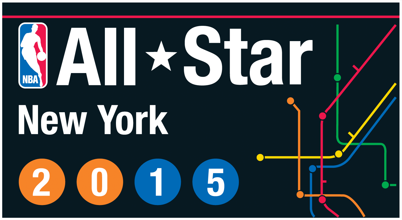 NBA All-Star Game Logo Alternate Logo (2014/15) - 2015 NBA All-Star Game logo - New York Knicks version SportsLogos.Net