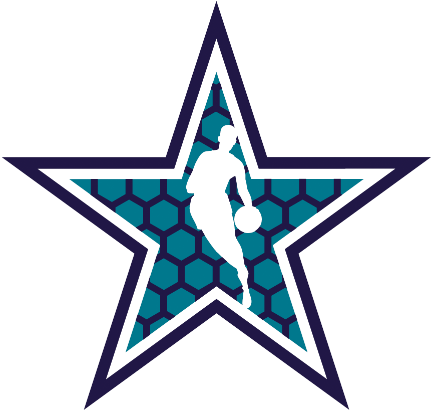 NBA All-Star Game Logo Secondary Logo (2018/19) - 2019 NBA All-Star Game Starman Logo, played in Charlotte, NC hosted by the Hornets SportsLogos.Net