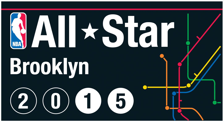 NBA All-Star Game Logo Alternate Logo (2014/15) - 2015 NBA All-Star Game logo - Brooklyn Nets version SportsLogos.Net