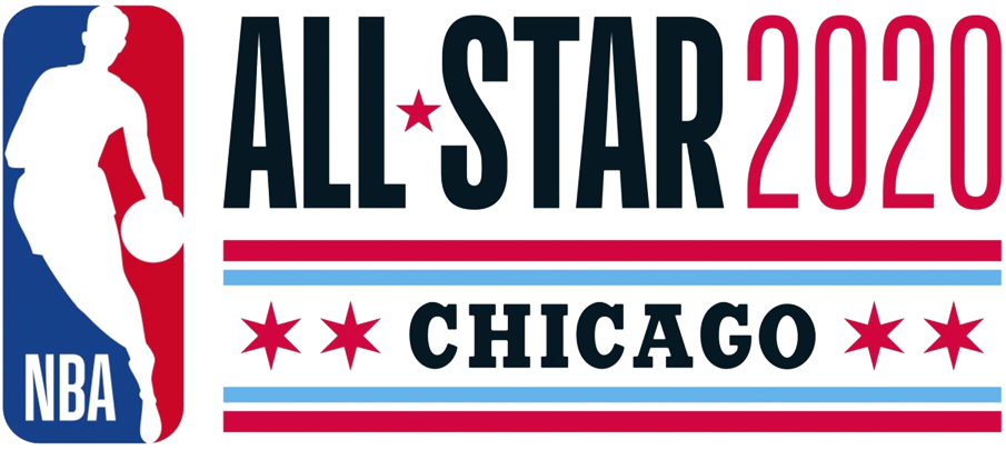 NBA All-Star Game Logo Primary Logo (2019/20) - 2020 NBA All-Star Game Logo - Game played in Chicago, IL hosted by Chicago Bulls SportsLogos.Net