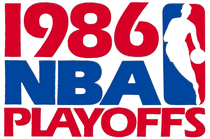 NBA Playoffs Logo Primary Logo (1985/86) - 1986 NBA Playoffs Logo SportsLogos.Net