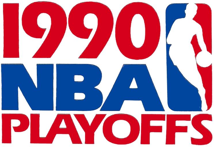 NBA Playoffs Logo Primary Logo (1989/90) - 1990 NBA Playoffs Logo SportsLogos.Net