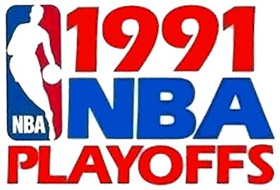 NBA Playoffs Logo Primary Logo (1990/91) - 1991 NBA Playoffs Logo SportsLogos.Net
