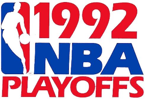 NBA Playoffs Logo Primary Logo (1991/92) - 1992 NBA Playoffs Logo SportsLogos.Net