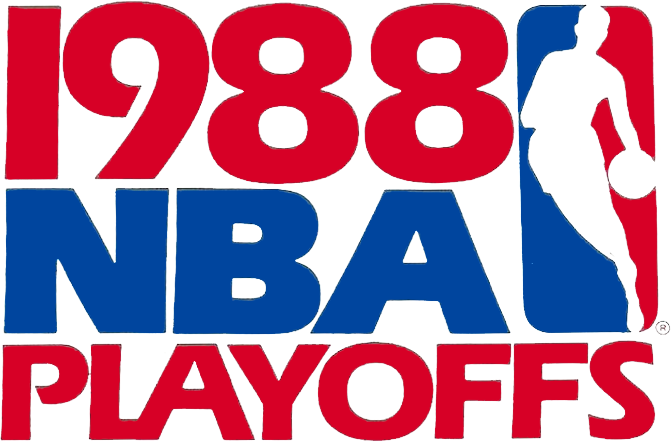 NBA Playoffs Logo Primary Logo (1987/88) - 1988 NBA Playoffs Logo SportsLogos.Net