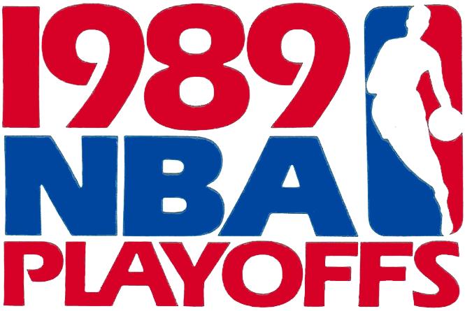 NBA Playoffs Logo Primary Logo (1988/89) - 1989 NBA Playoffs Logo SportsLogos.Net