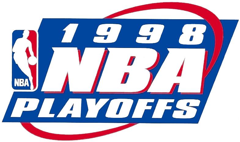 NBA Playoffs Logo Primary Logo (1997/98) - 1998 NBA Playoffs Logo SportsLogos.Net