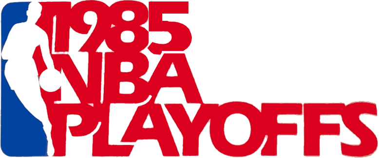NBA Playoffs Logo Primary Logo (1984/85) - 1985 NBA Playoffs Logo SportsLogos.Net