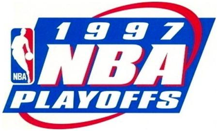NBA Playoffs Logo Primary Logo (1996/97) - 1997 NBA Playoffs Logo SportsLogos.Net