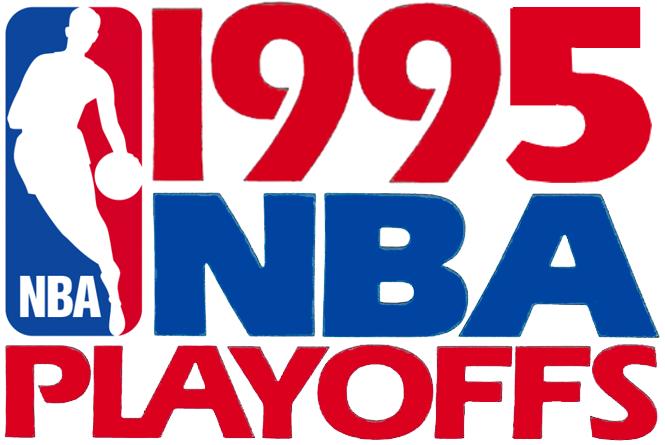 NBA Playoffs Logo Primary Logo (1994/95) - 1995 NBA Playoffs Logo SportsLogos.Net
