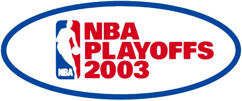NBA Playoffs Logo Primary Logo (2002/03) - 2003 NBA Playoffs Logo SportsLogos.Net