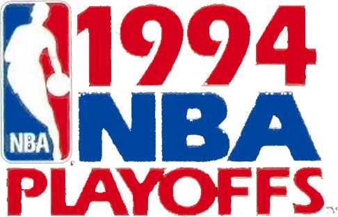NBA Playoffs Logo Primary Logo (1993/94) - 1994 NBA Playoffs Logo SportsLogos.Net